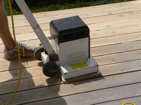 sanding a deck blog get the best finish for your deck sansin silva timber
