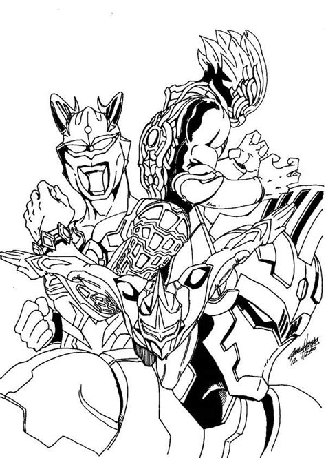 printable ultraman coloring pages liste