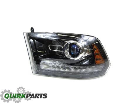 2013 2015 dodge ram 1500 left front driver side black projector headlight l ebay