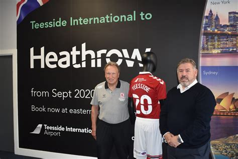 Boro Kick Off New Season At Teesside Airport As Neil ...