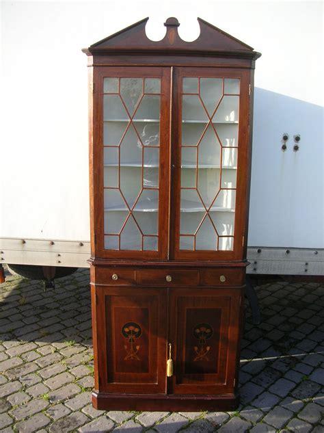 antique mahogany standing corner cabinet antiques atlas