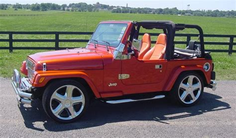 jeep wrangler lowered ugliest tjs you 39 ve seen jeep wrangler tj forum