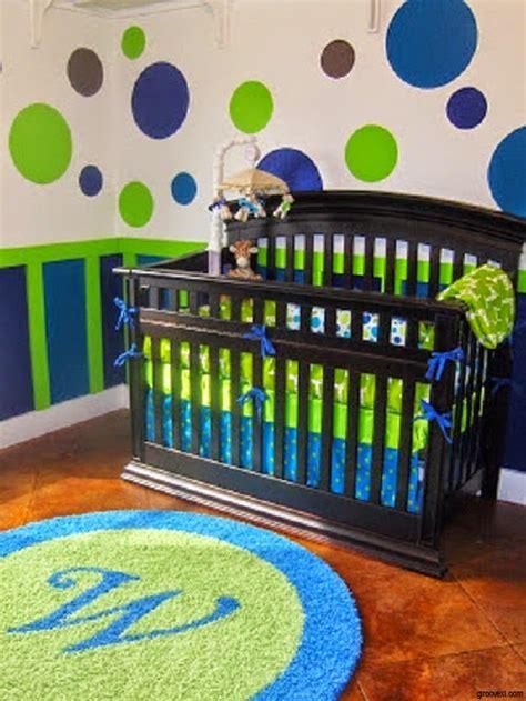 chambre garcon vert déco chambre bébé garçon bleu et vert bébé et décoration