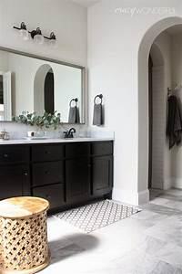 Framed, Bathroom, Mirror
