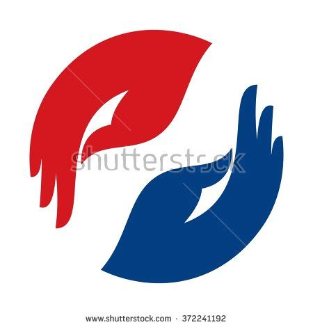 hand logo stock images royalty  images vectors