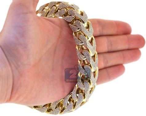 Mens Diamond Franco Bracelet 10k Yellow Gold 4311 Ct 410. Colored Platinum. Diy Fabric Earrings. Bone Engagement Rings. Yachtmaster 2 Platinum. Jeweled Rings. Bangle With Ring. Open Heart Rings. Australian Emerald
