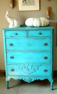 Antique, Shabby, Chic, Painted, Dresser, Turquoise, Blue, Distressed, Paint, Shabbychicdressers