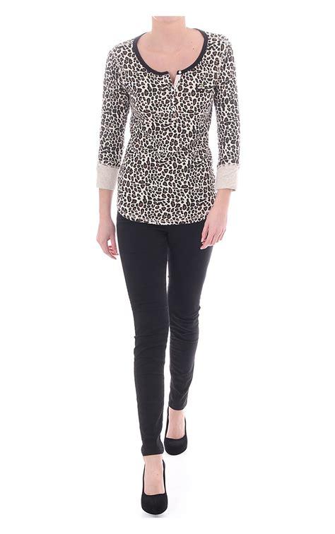 maison scotch womens leopard print jumper maison scotch leopard