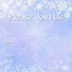 free printable invites free printable party invitations With blank winter wedding invitations