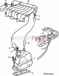 90502186  Saab Positive Crankcase Ventilation Valve