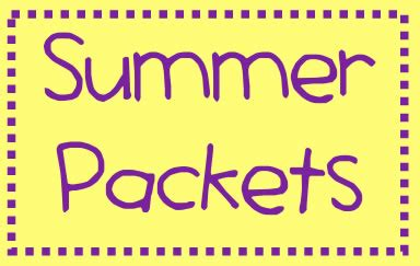 Summer Packets  Bergen Arts And Science Charter School
