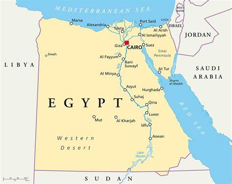egypt map ephotopix