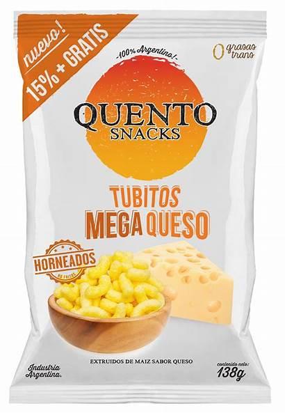 Snacks Queso Quento Tubitos