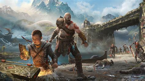 kratos  atreus  god  war wallpapers hd wallpapers