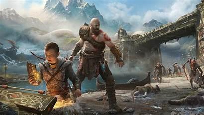 God War Kratos Atreus 1080 Wallpapers 1920