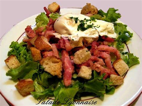 ancienne recette de cuisine recettes de salades cuisine des gones cuisine lyonnaise