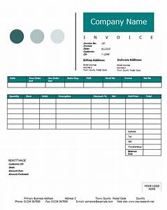 construction invoice template printable word excel With construction invoice excel