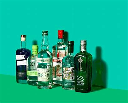 Gin Drink Britain Hipster Sales Basket Measure