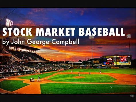 stock market baseball  john george campbell  john