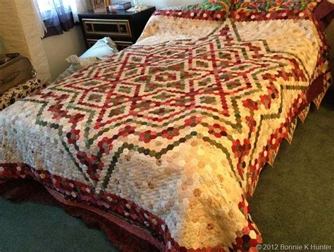 Bonnie Hunter's Hexie Quilt This Might Be My Inspiration