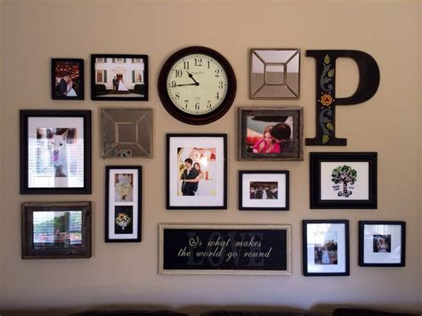 Bedroom Decorating Ideas Picture Frames by Decorate Your Wall With Collage Photo Frames My New Digs