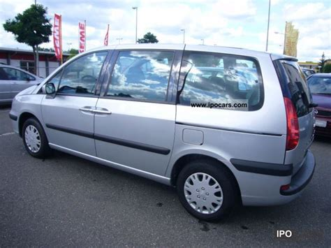 2003 peugeot 807 auto 7 sitzer gsd klimaautimatik car