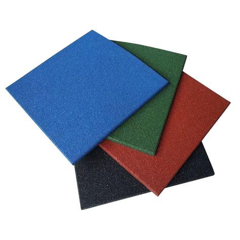 rubber floor tiles quot eco sport 3 4 inch quot interlocking rubber flooring tiles