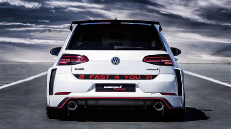 oettinger volkswagen golf gti tcr germany street
