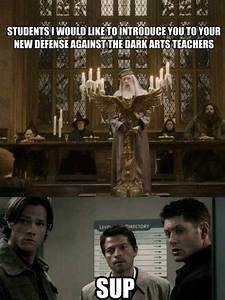 I love it, but defense against the dark arts teachers only ...