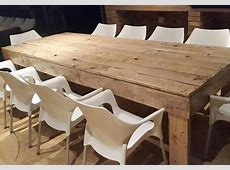 HOME DZINE Home Decor Dining tables and chairs made from