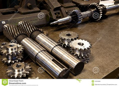 mechanical parts stock image image  industry