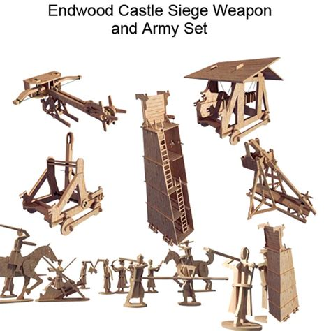 siege machines endwood castle siege set with army castles makecnc com