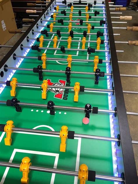 jumbo led lighted foosball table racing simulators