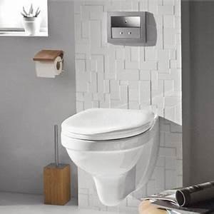 Wc Suspendu Castorama : d co wc design avec une cuvette wc suspendu ~ Melissatoandfro.com Idées de Décoration