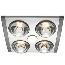 Bathroom Heat Light Ceiling Fitting by Silver Heller Ceiling Light Heater Globe Ducted Exhaust