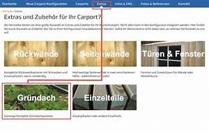 Carport Online Konfigurator : carport mit gr ndach bzw dachbegr nung ~ Sanjose-hotels-ca.com Haus und Dekorationen