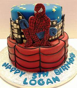 MaryMel Cakes: Spiderman birthday