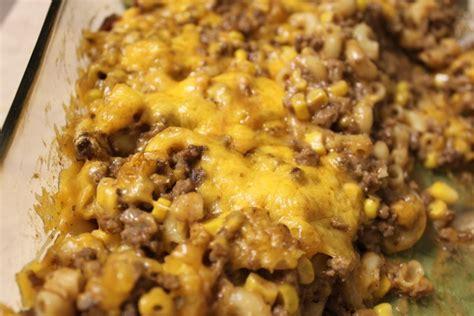 easy recipes with hamburger hamburger casserole video tried and tasty