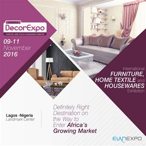 trends styles  upcoming nigeria decor expo