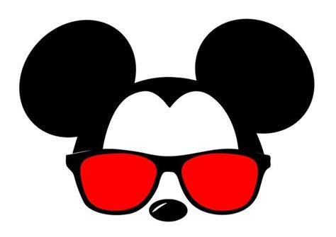 1280 x 720 jpeg 119 кб. SVG DXF File for Mickey with Sunglasses from ...