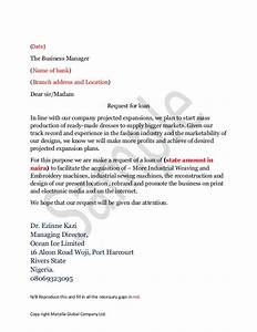 letter to bank manager for business loan global business With business loan letter