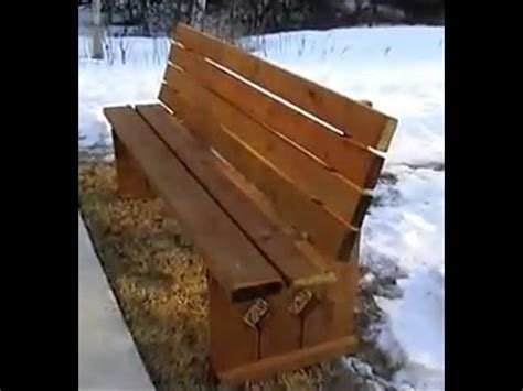 build  bench seat   build  simple bench