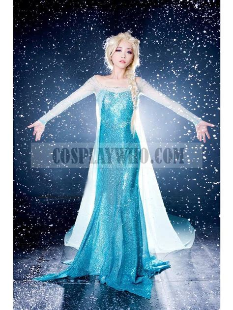 Mukena Frozen Elsa Size Xl frozen elsa dress costume cosplaywho all