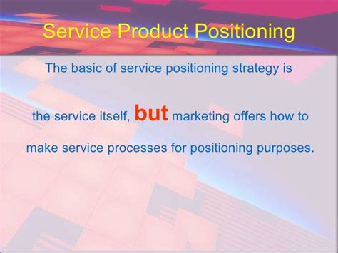 Marketing Through by Service Marketing Through Structural Change