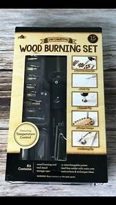 Using, A, Wood, Burning, Tool