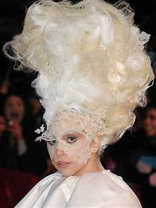 Fantastic Hairstyle Of Lady Gaga