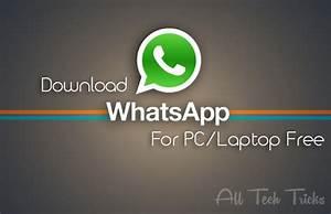 Download Whatsapp For Pclaptop Free 2014 Windows 7 Xp ...