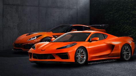 Mid Motor Corvette by Pic Fvs Renders The C8 Mid Engine Corvette With The 2019