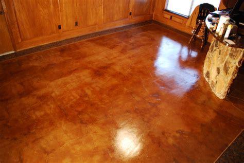 esr concrete acid stained floor midlothian tx   ESR