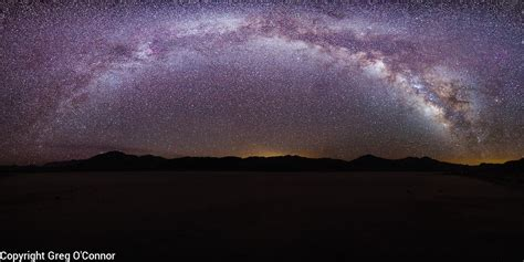 The Milky Way The Racetrack Death Valley National Park